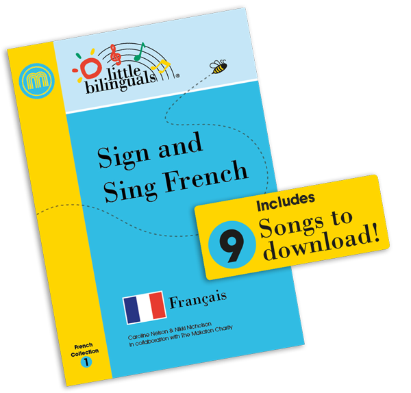 Little Bilinguals French Book Cover
