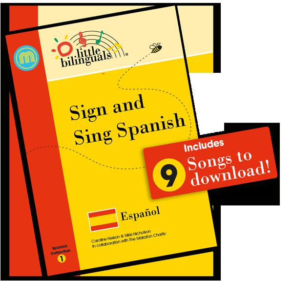 Little Bilinguals Spanish Book Cover